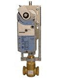 Siemens Electronic Globe Valve Assembly #299-03168