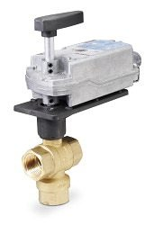 Siemens Electronic Ball Valve Assembly #171F-10356