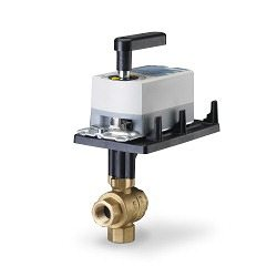Siemens Electronic Ball Valve Assembly #171A-10360