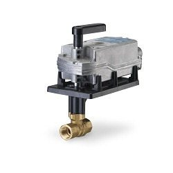 Siemens Electronic Ball Valve Assembly #171F-10321