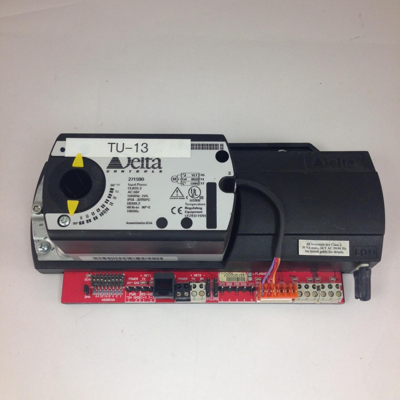 Delta VAV Controller #DCV-V304 Used