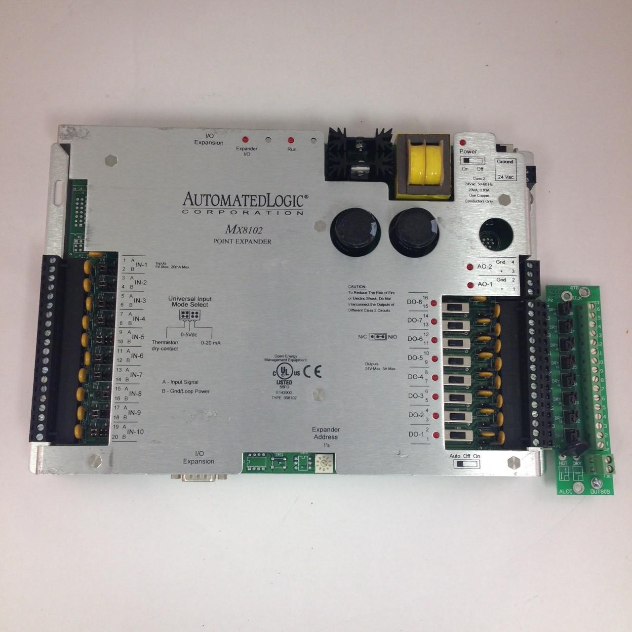 Automated Logic # MX8102 Point Expander Used