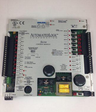Automated Logic Control Module #S6104 Used