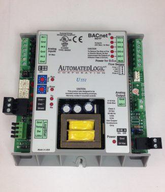 Automated Logic (ALC) U551 Zone Heat pump and fan coil controller