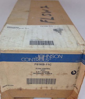 Johnson Controls #F61KB-11C, Flow Switch