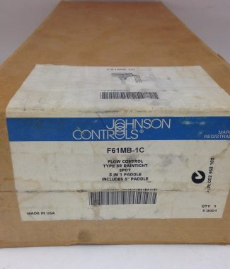 Johnson Controls #F61MB-1C, Flow Switch