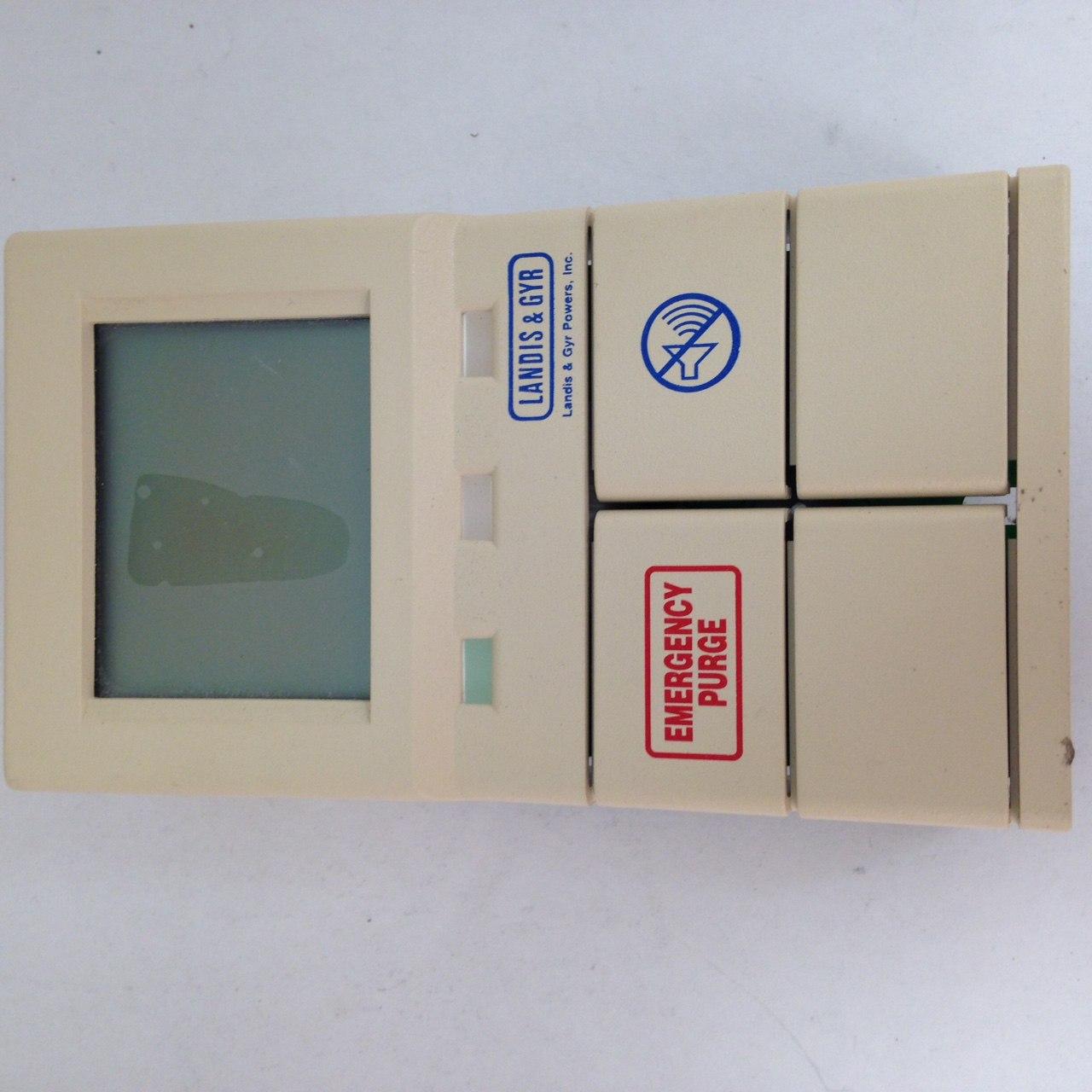 Siemens 537-720 Fume Hood Controller Operator Display Panel