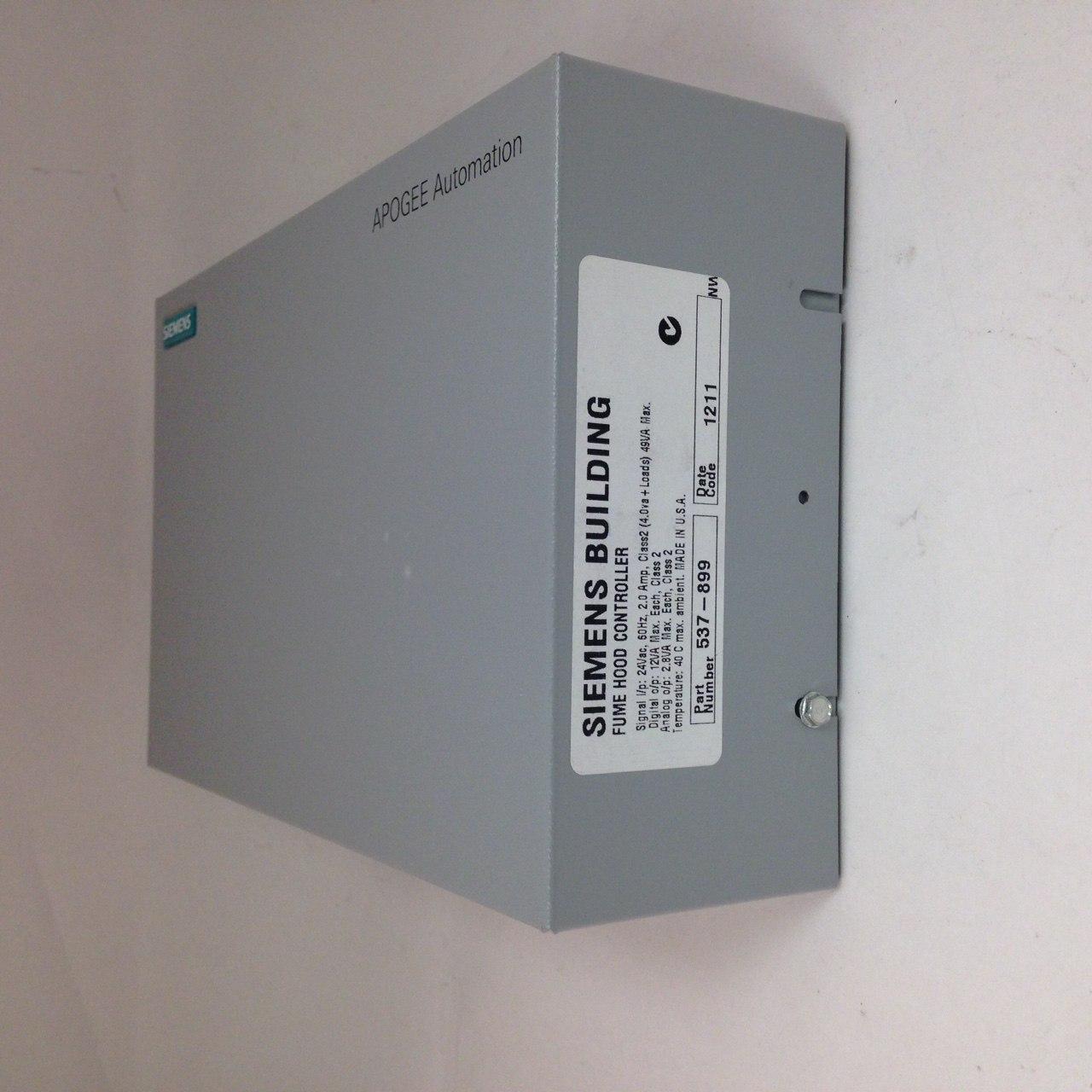 Siemens 537-899 Fume Hood Controller Enclosure