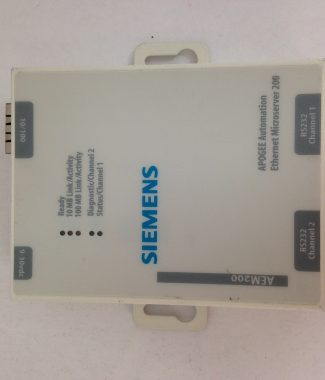Siemens 538-920 Apogee Ethernet Microserver 200