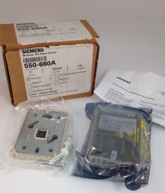 Siemens 550-660A Wireless Room Sensor, Beige