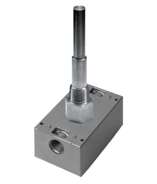 """ACI A/100-3W-IM-2.5""""-BB Platinum RTD, General Mounting, Immersion with Machined Well 2.5"""""""