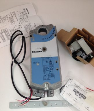 Siemens GCA151.1P Open Air Actuator