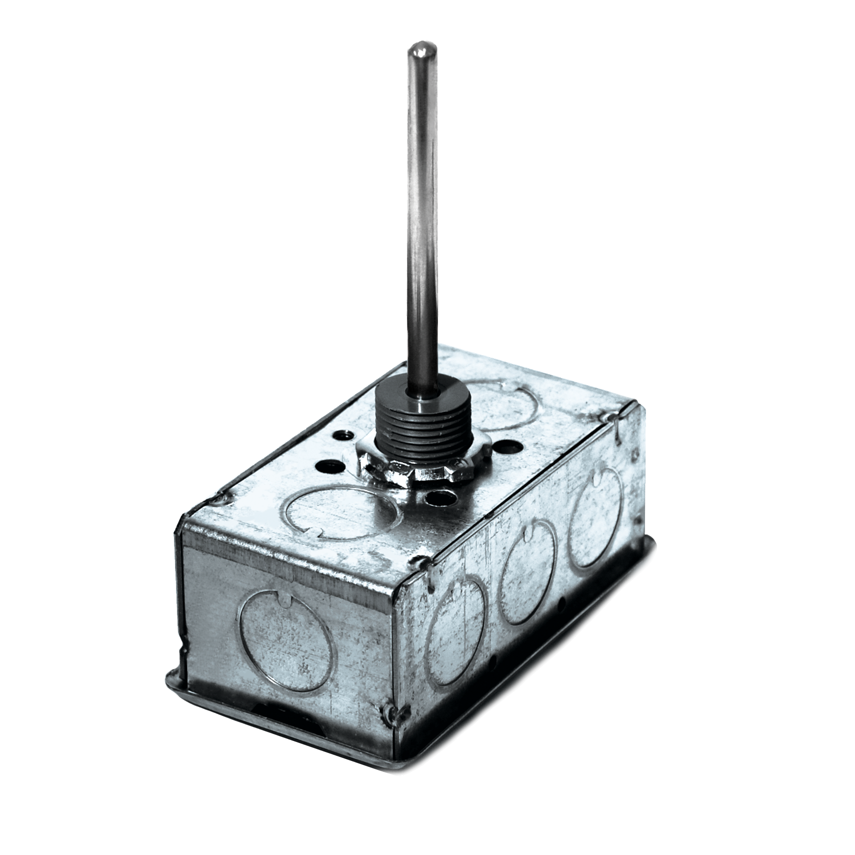 """ACI A/1K-3W-INW-2.5""""-GD Platinum RTD, General Mounting, Immersion No Well, 2.5"""""""
