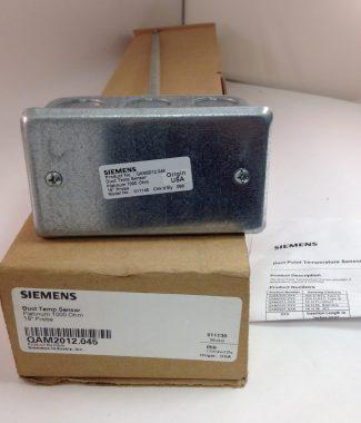"""Siemens QAM2012.045- 18"""" Duct Temperature Sensor"""