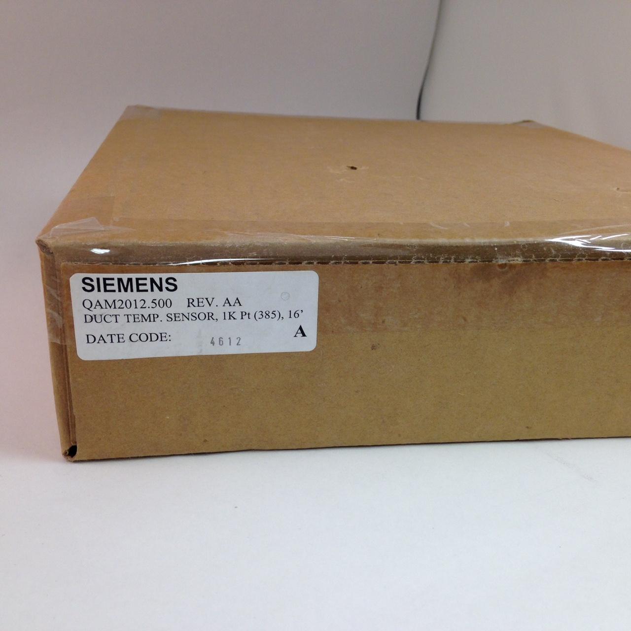 Siemens QAM2012.500- Duct Temperature Sensor