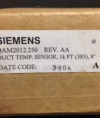 """Siemens QAM2012.250- 8"""" Duct Temperature Sensor"""