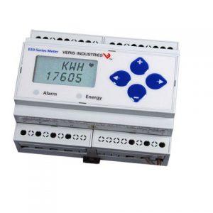 Veris E51H5 Bi-Dir. DIN Energy Meter, BACnet MS/TP, Log, 2 Pulse In