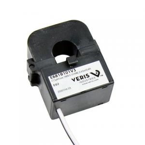 Veris E681B101V3 CT,SplitCore,100A:0.333VAC,0.63inID,6Ft