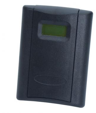 Veris Industries CWLSHTDB CO2,Wall,LCD,RH 2%,Temp,10k T2,Black