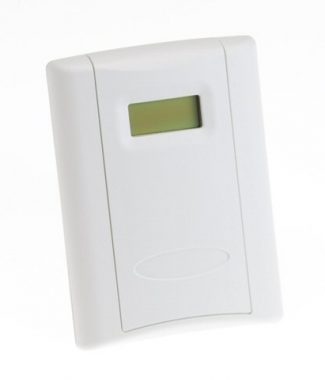Veris Industries CWLSHTCX3A CO2,Wall,LCD,RH 2%,1k Pt,1k SP w/Ovrrd