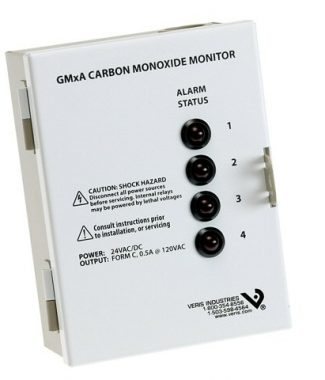 Veris Industries GM2A CO Monitoring Station,2 Sensors