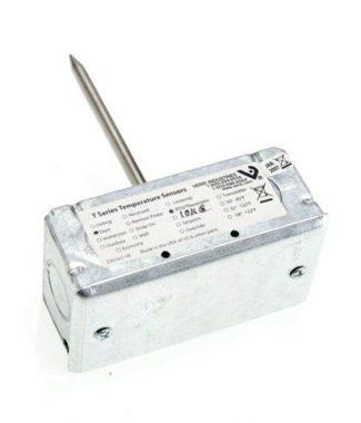 Veris TFFFR00 Temp,Duct w/Mtg Box,18 in,3k