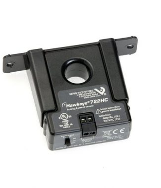 Veris Industries H722HC SolidCore,Range:0-50,0-100,0-200AAC Sw Select,Output:0-5VDC