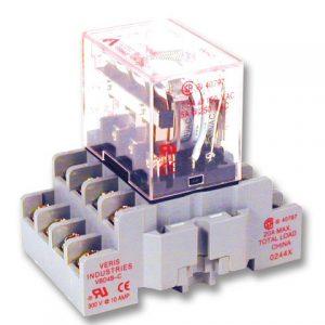 Veris CKIT-VMD4B-CL24D 4PDT,-CL w/- C Socket,24VDC