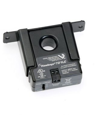 Veris Industries H721LC Solid Core,Range:0-10,0-20,0-40AAC Sw Select,Output:4-20mA