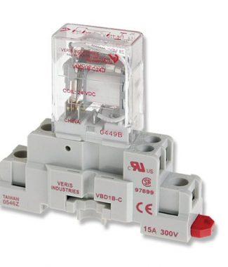 Veris CKIT-VMD1B-C24D SPDT -C w/-C Socket,24VDC