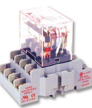 Veris CKIT-VMD4B-C24A 4PDT - C w/- C  Socket,24VAC