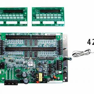 Veris Industries E31B42 42-ckt split-core BrCur,AuxPwr meter, (42) 50A CTs