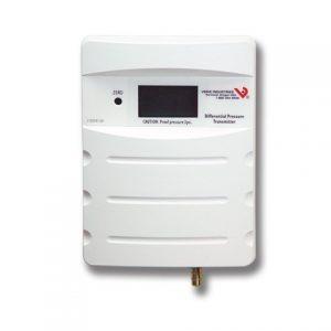Veris PXPLN02S Pressure,Dry,Panel,LCD,NIST,0-10in WC