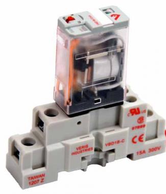 Veris CKIT-VMD1B-F12D SPDT -F w/-C Socket,12VDC