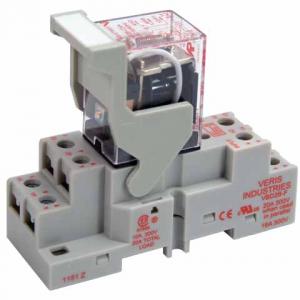 Veris FKIT-VMD2B-C120A DPDT -C w/- F Socket,120VAC