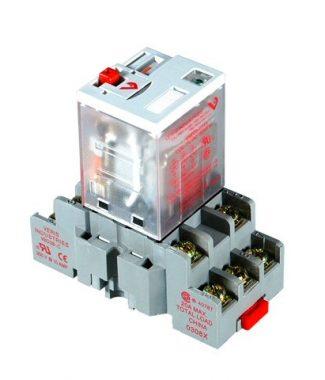 Veris CKIT-VMD3B-F120A 3PDT - F w/-C Socket,120VAC