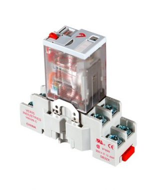 Veris CKIT-VMD2B-F24D DPDT -F w/-C Socket,24VDC