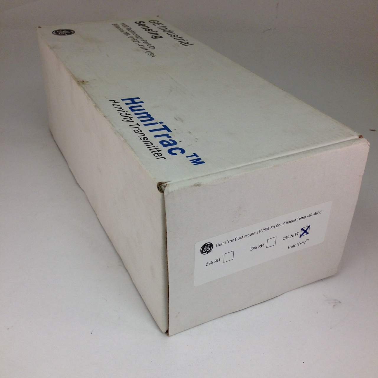 ge humitrac p40250151  duct mount  2 rh with nist