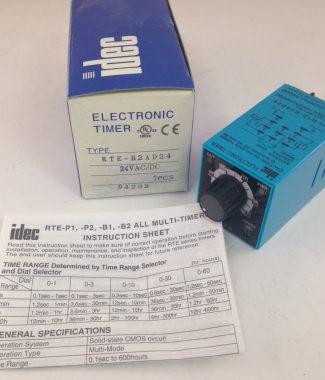Idec RTE-B2AD24 Timing Relay