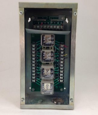 Trane Relay Panel 49500340 model CIP-8T