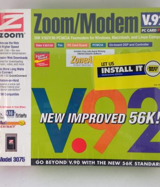 Zoom/ Modem V.92