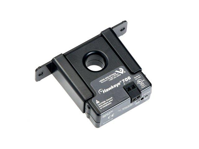 Veris Industries H706 Solid Core,Adj,Calibration LED's,Range:1-135AAC,Output:N.C.,