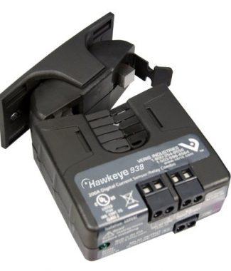 Veris Industries H938 Current Switch/Relay Combo,Split Core,Adj.,SPST