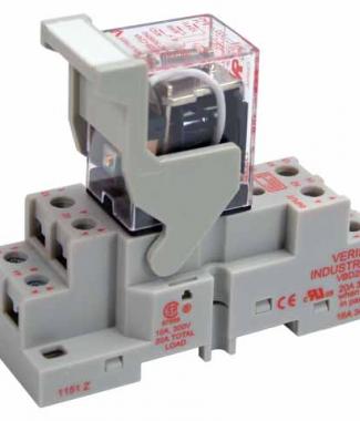 Veris FKIT-VMD2B-C24A DPDT -C w/- F Socket,24VAC