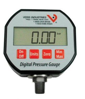 Veris PD100AX Prs,Vac,Dsply,-14.7to100 psi,1/4in NPT