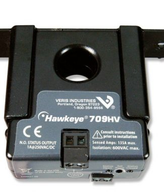 Veris Industries H709HV Current Switch,Solid,Adj,NO,250V