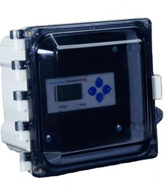 Veris Industries AE012 Acc,Encl,NEMA4X,DIN,Swing Pnl,Smoke Lid