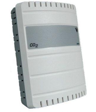 Veris Industries CWVS3XX1 CO2,Wall,Val,2x V Out,No Rly,No Tmp,1Yr