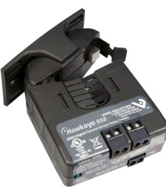 Veris Industries H958 Current Switch/Relay Combo,Split Core,Adj.,SPST,9-12VDC Coil