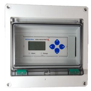 Veris Industries AE010 E5x Series Meter Enclosure, NEMA4, 8U DIN-rail, w/o lock
